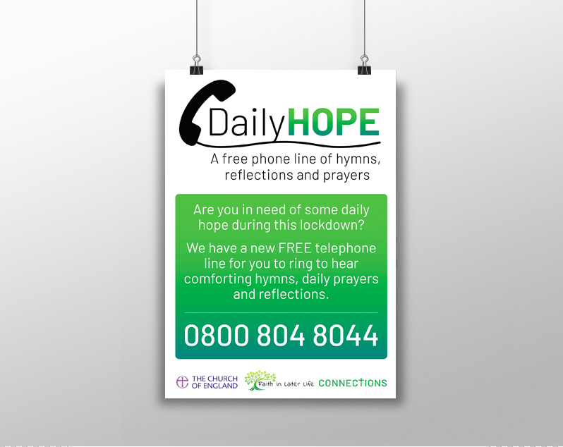 Daily Hope Poster 1 - Printed