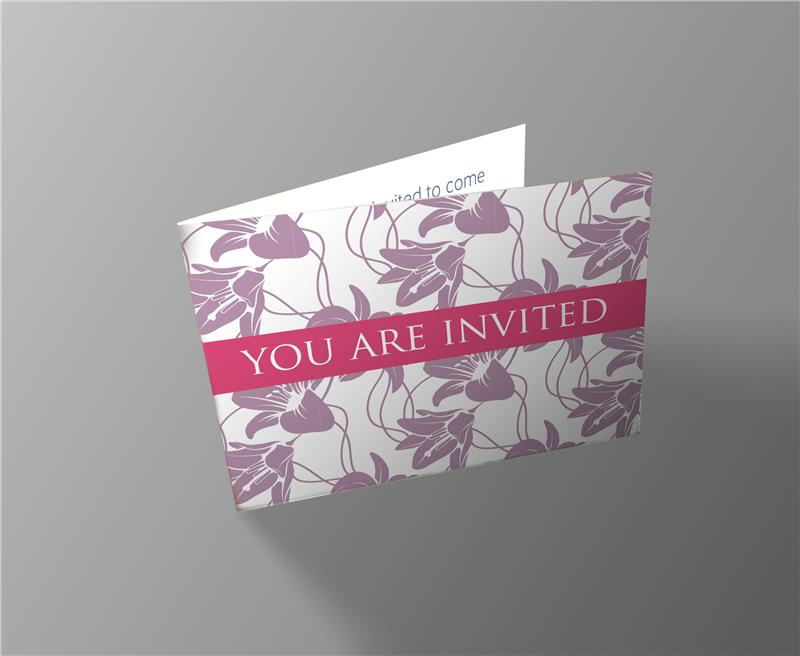 Weddings Banns Invitation Card