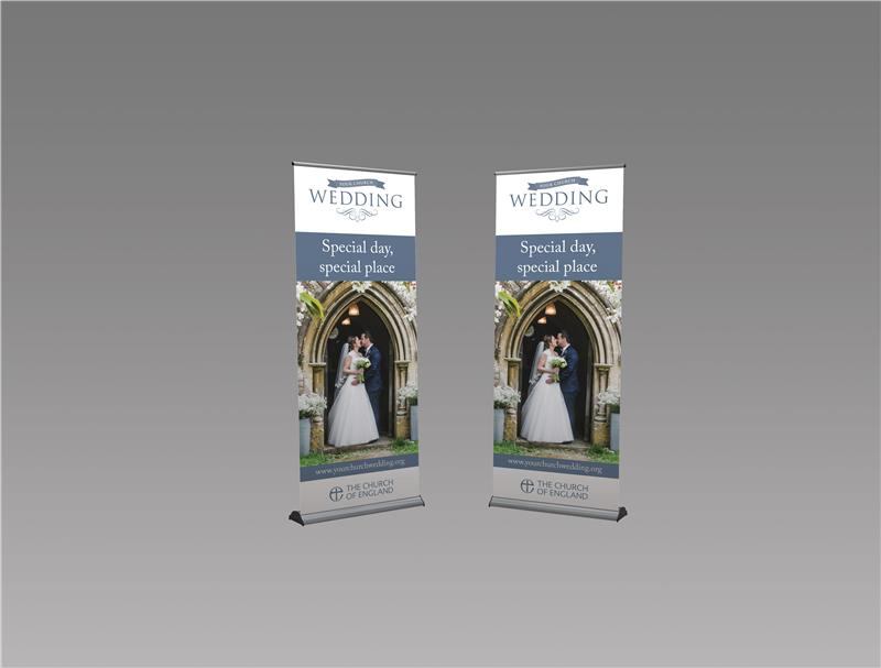 Weddings Decorative Stand-up Banner 01