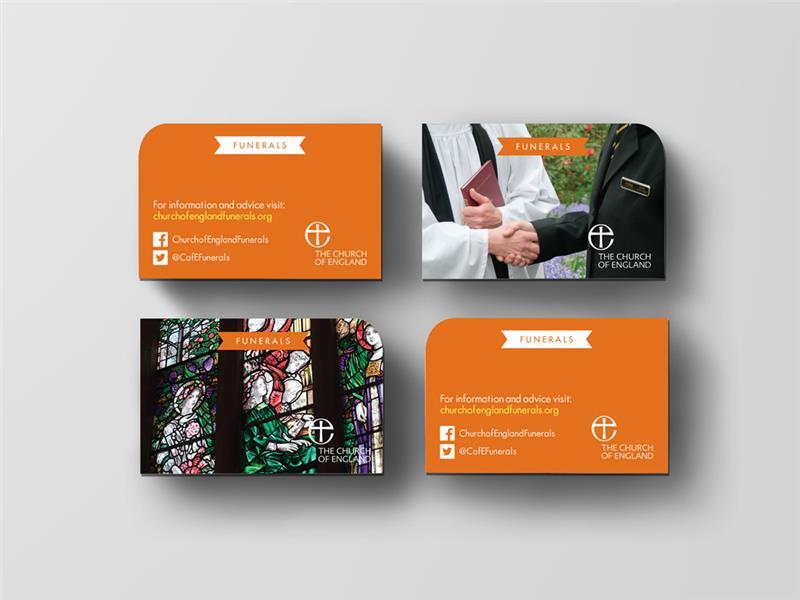 H0999BC - Funerals Website Business Card : Funerals :: Church Print Hub